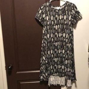 XS lularoe Carly feather dress!